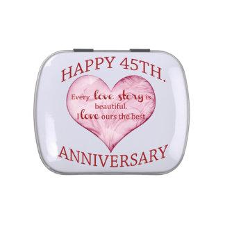 45.o. Aniversario Latas De Caramelos