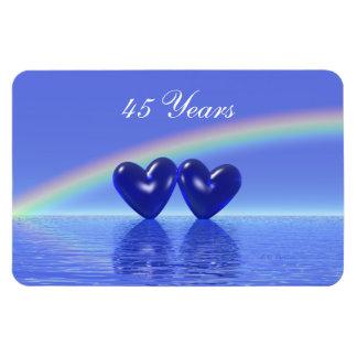 45.o Corazones del zafiro del aniversario Iman