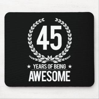 45.o Cumpleaños (45 años de ser impresionantes) Mouse Pads
