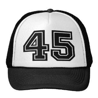 45.o Cumpleaños Gorras