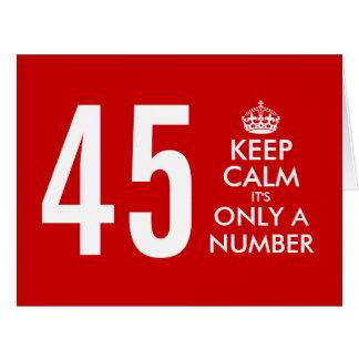 45.o La tarjeta de cumpleaños grande con divertido