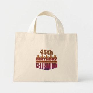 45.o Regalos de cumpleaños Bolsa De Mano