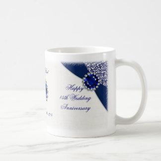 45.o Taza del aniversario de boda