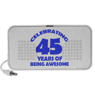 45.os diseños de los años laptop altavoz