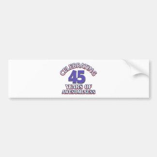 45.os diseños de los años pegatina para auto