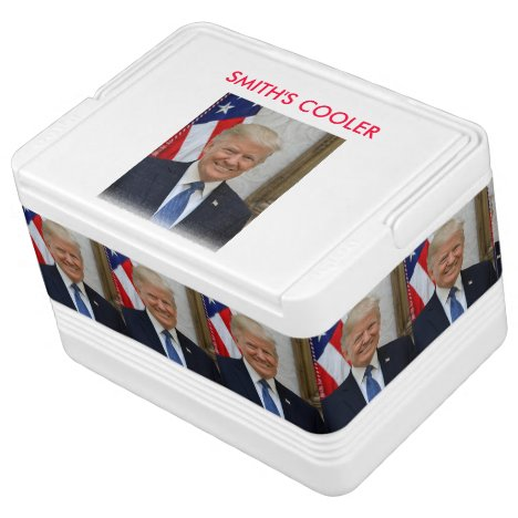 45 President Donald Trump Cooler
