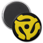 45 Record Adapter 2 Inch Round Magnet