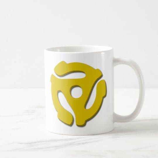 45 Record Adapter Coffee Mug
