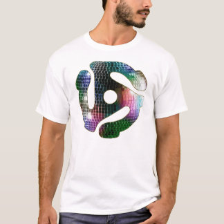 45 Record Adapter - Mirror Ball T-Shirt