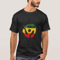 45 Record Adapter Reggae Single T-Shirt
