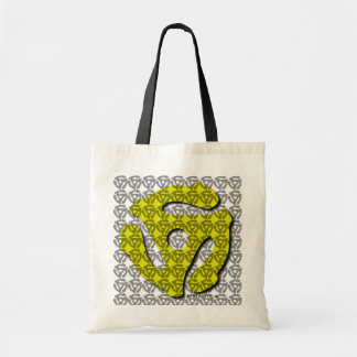 45 Record Insert Music Tote Bag