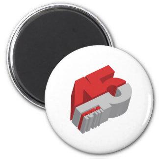 45 RPM 3D - DJ Disc Jockey DJing Refrigerator Magnets