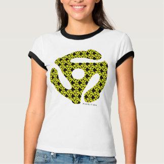 45 RPM Adapter Music Girl T-Shirt