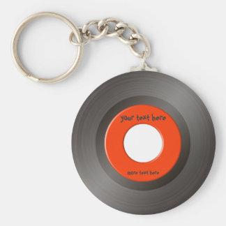 45 RPM Keychain