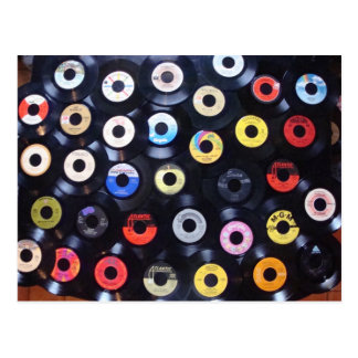 45 rpm post cards