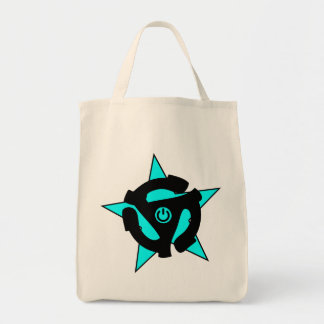 45 RPM Power Adapter Tote Bag