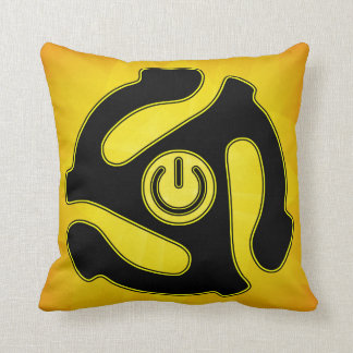 45 RPM Power Record Adapter Pillow