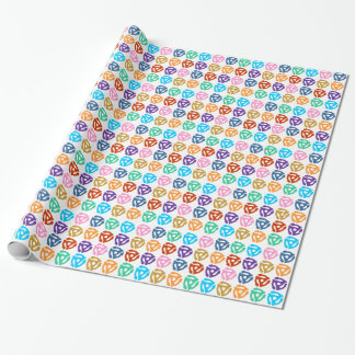 45 RPM Record Adapter Pop Art Wrapping Paper