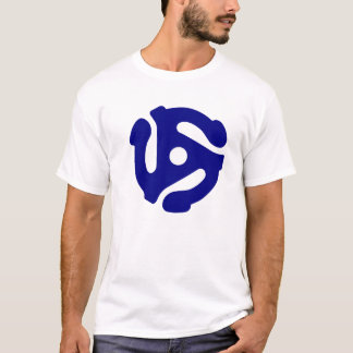 45 Rpm T-Shirt Blue
