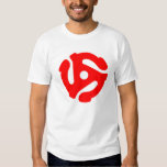 45 Rpm T-Shirt Red