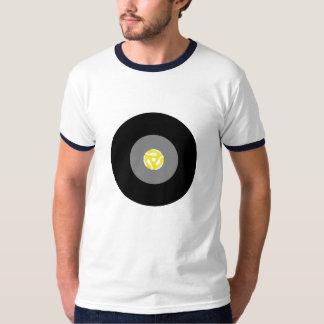 45 Single Vinyl Record w/ Adapter T-Shirt