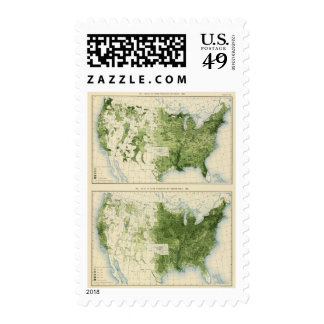 45 Value farm products 1890 Postage