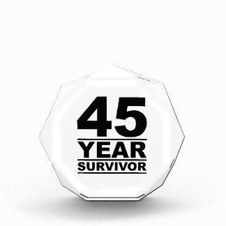 45 year survivor award
