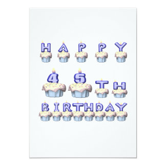 45 Years Old Card