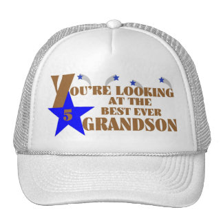 45Best Ever Grandson Cap Trucker Hat