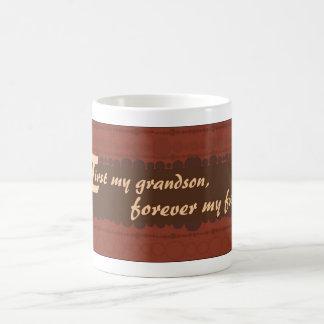 45Forever My Grandson Mug