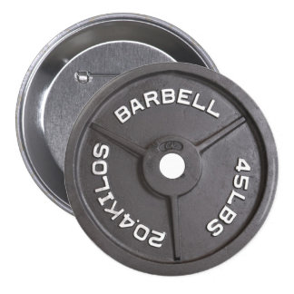 45lb placa - Barbell Pin Redondo De 3 Pulgadas