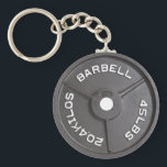 "45lb Plate - Barbell Keychain<br><div class=""desc"">Centuries ago, Brodin cast forth these 45lb icons of swole from the heavens. They carry a constant reminder of the weight we&#39;ve lifted and of the burden that is yet to come. All hail Brodin. Whence beset on all sides by agents of Broki, do not lose your whey. For though...</div>"