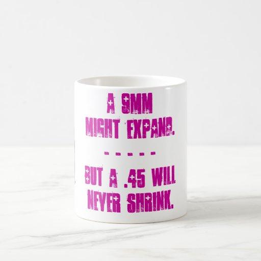 .45's Don't Shrink Classic White Coffee Mug