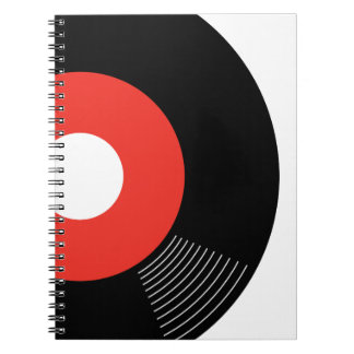 45s Record Notebook (Red)