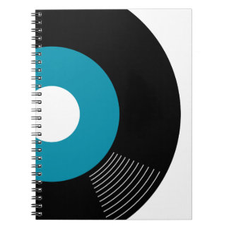 45s Record Notebook (Teal)