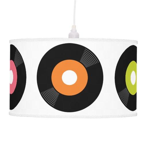 45s record pendant lamp zazzle for Lamp light records