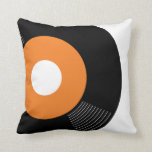 45s Record Pillow (Orange) — SQUARE