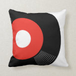 45s Record Pillow (Red) — SQUARE