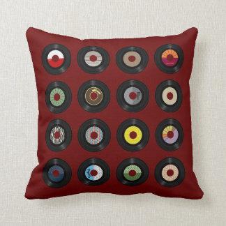 45s Record Throw Pillow