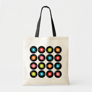 45s Record Tote Bag