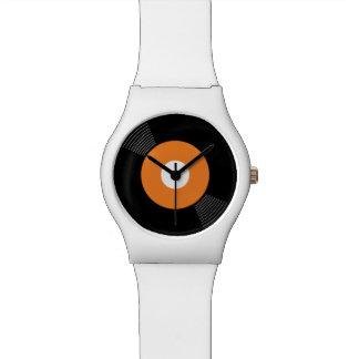 45s Record Watch (Orange)