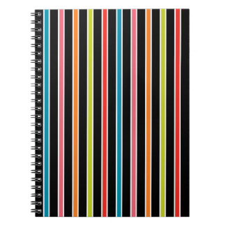 45s Stripes Notebook