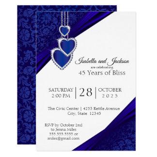 45th / 65th Sapphire Anniversary Design Card