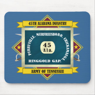 45th Alabama Infantry Mouse Pad