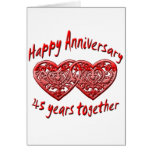 45th. Anniversary Cards