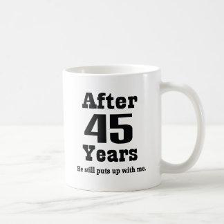 45th Anniversary (Funny) Coffee Mug