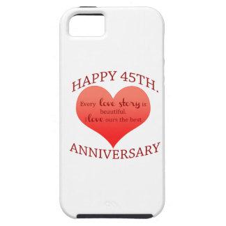 45th. Anniversary iPhone SE/5/5s Case