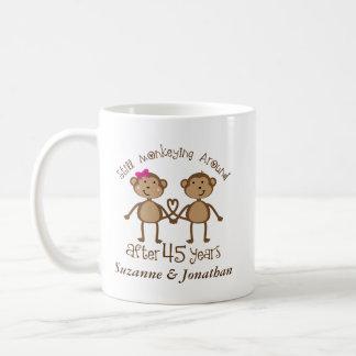 45th Anniversary Personalized 45 Years Mug