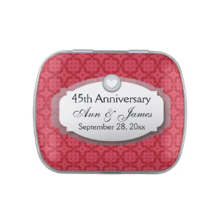 45th Anniversary Sapphire Red  Z28 Jelly Belly Tin