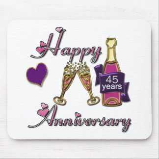 45th. Anniversry Mouse Pad